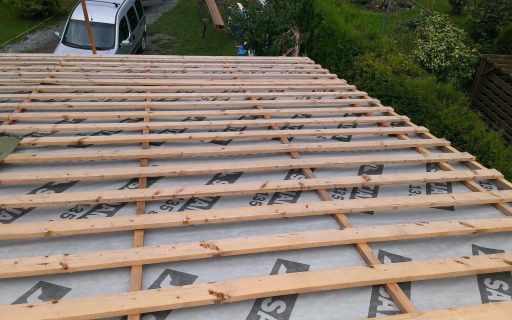 Pultová střecha cena za m2