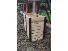 Dvoukomorový kompostér