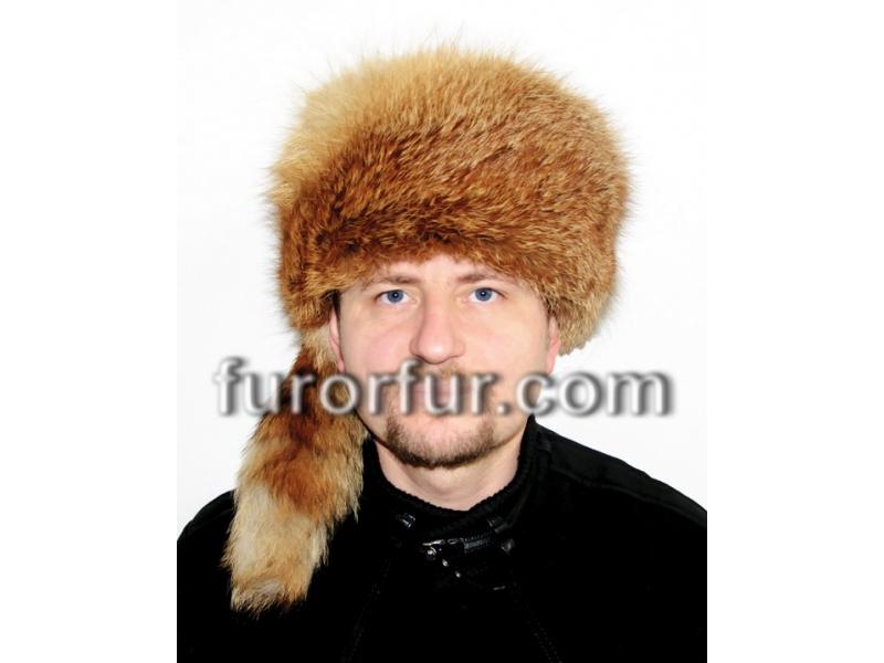 1 Luxusní Zimní Kožešinová Čepice z Přírodní Lišky - FRANT 722bc18741