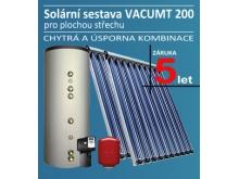 Solární sestava VACUMT 200 pro 2-3 osoby